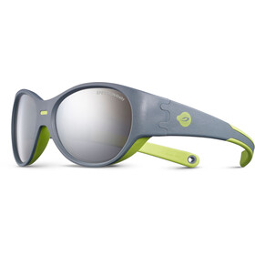 Julbo Puzzle Spectron 4 Sunglasses Kids 3-5Y Gray/Green-Gray Flash Silver
